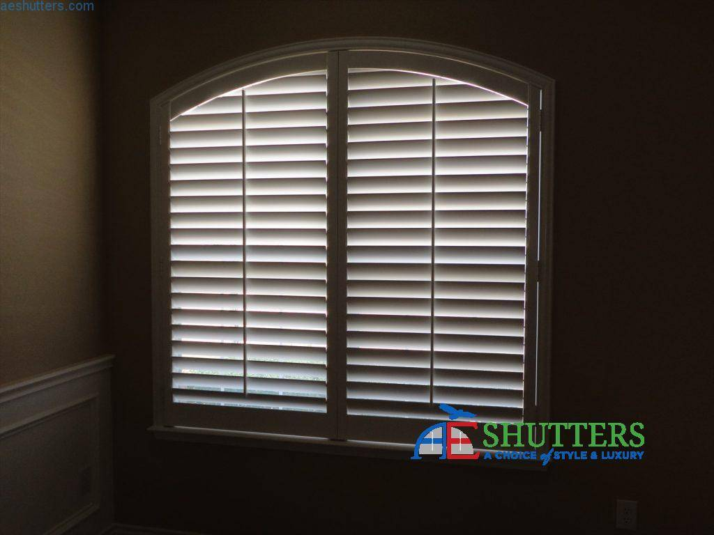 eyebrow window blinds rectangular windows eyebrow special windows window covering blinds shutters ae blinds